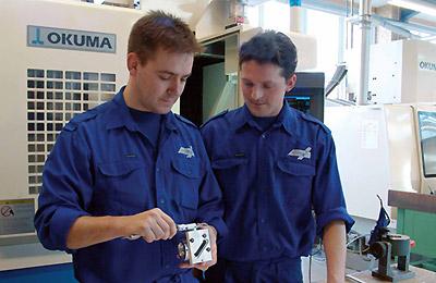 Engagerede og dygtige medarbejdere hos Finmekanisk Fabrik