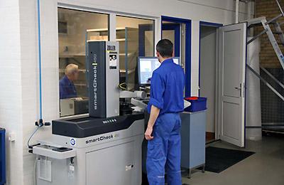 Fremstilling af prototyper hos Finmekanisk Fabrik